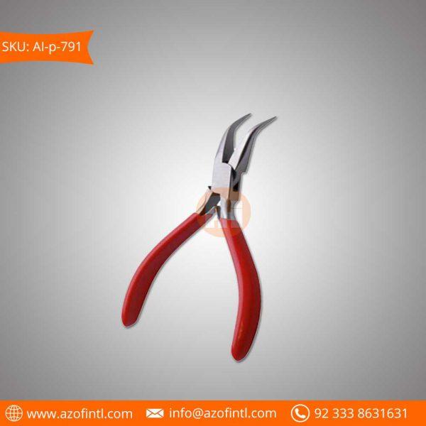 Bent Chain Nose Pliers