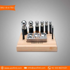 Dapping Block Set with 8 Pcs Block