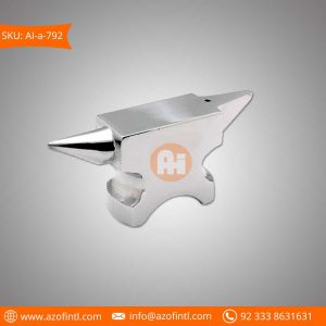Double Horn Anvil Steel Fogged