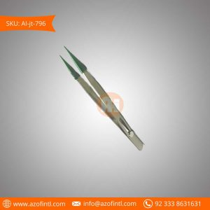 Locking Tweezers fine Rube Tip
