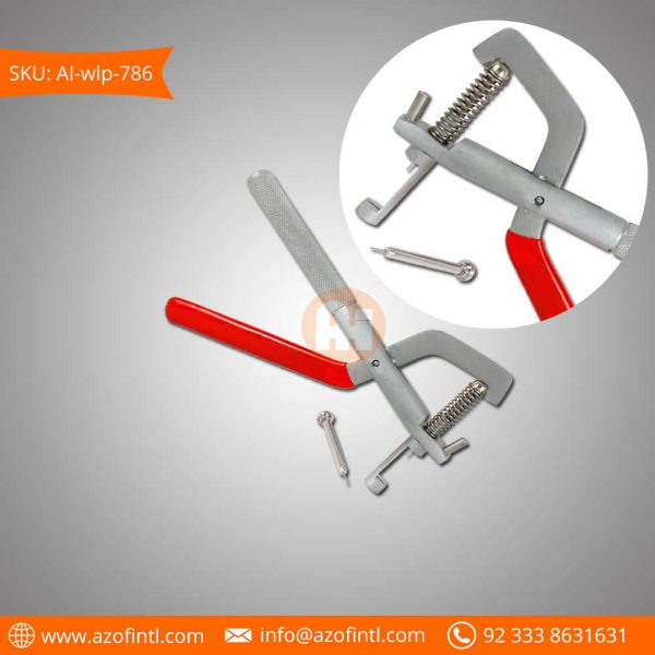 Link Pin Remover Pliers With Red Handle