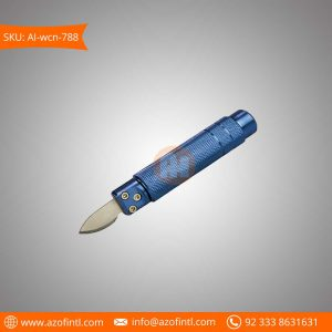 Watch Case Knife Opener Aluminum Made Blue